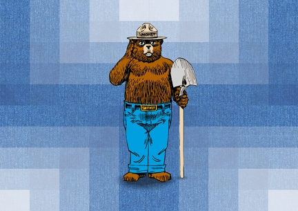 Patagonia x National Park Service x Smokey Bear Collab