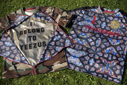 "losdejos x SoccerBible ""I Belong to Yeezus"" Football Shirts"