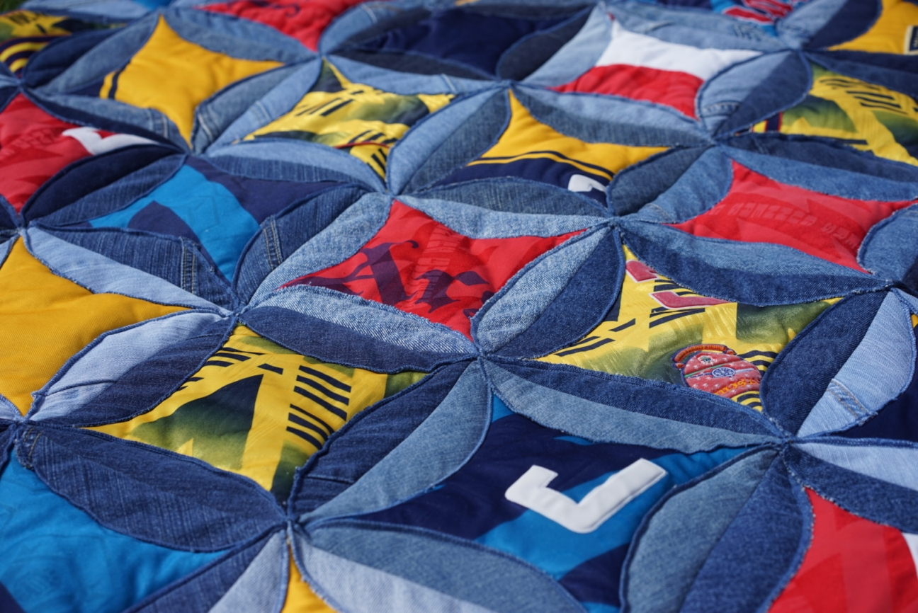 Arsenal Patchwork Quilt